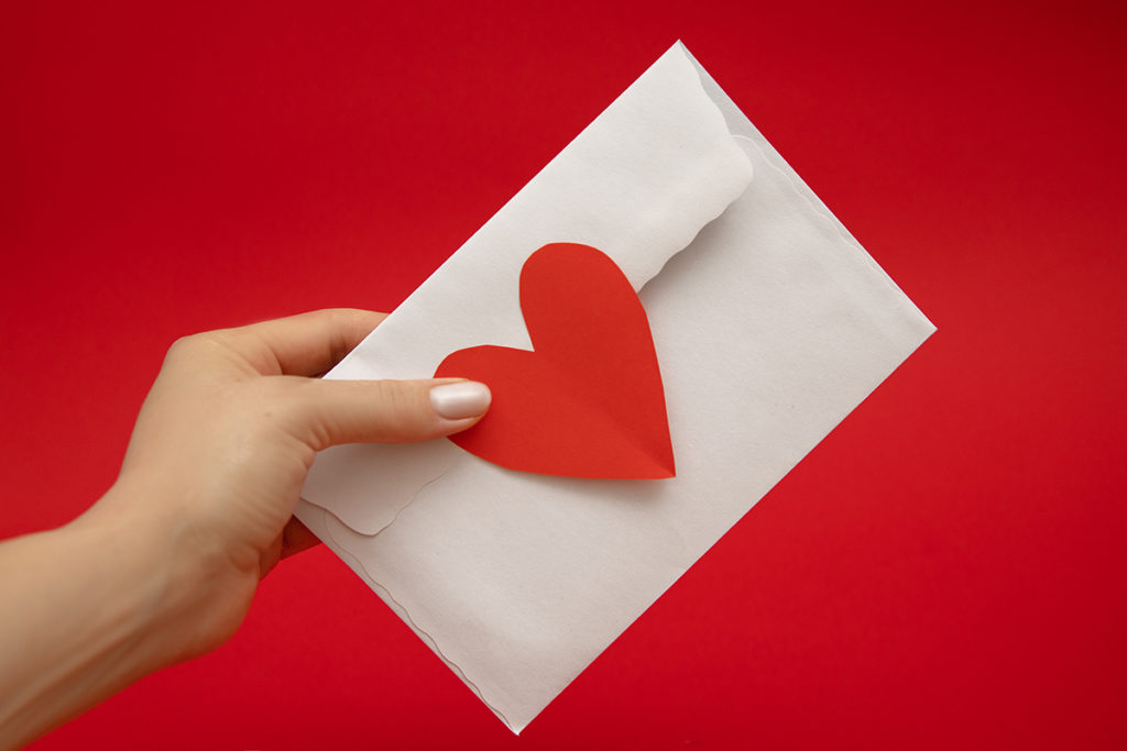 How to tell someone you like them in a letter